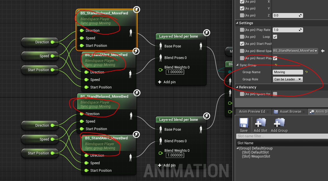 UE4]Animation Blend Related